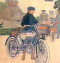 An Early Motorcycle